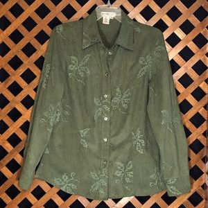 Coldwater Creek Long Sleeve Blouse.